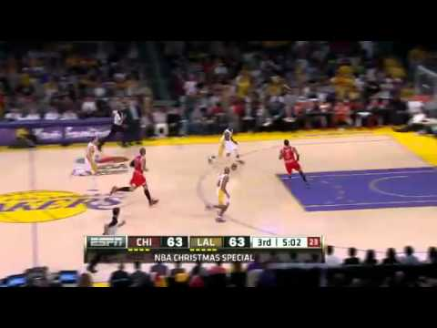 Chicago Bulls vs L.A Lakers Higlights (Christmas Day 2011-2012)