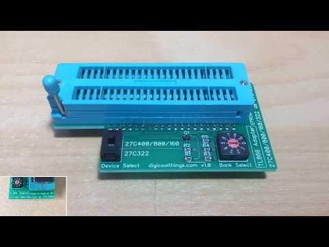 TL866 EPROM Programmer Adapter for 27C400/800/160 and 27C322 16bit EPROMS