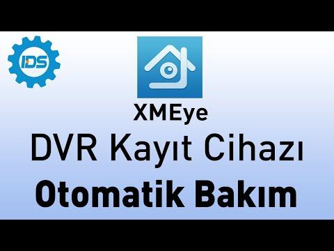 DVR Kayıt Cihazı Otomatik Bakım Ayarı - XMEYE