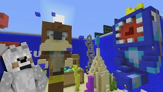 Minecraft Xbox | Hide and Seek - Youtuber Under The Sea