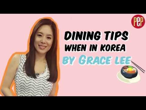 Dining Tips When in Korea by Grace Lee