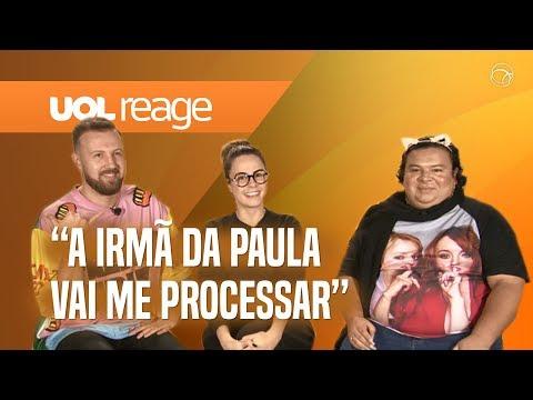 A RETA FINAL DO BBB19  UOL REAGE COM ANA P RAINHA MATOS E THIAGO MORRI DE SUNGA BRANCA