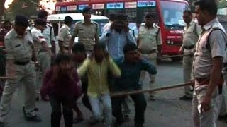 Ujjain police make criminals do sit ups publicly