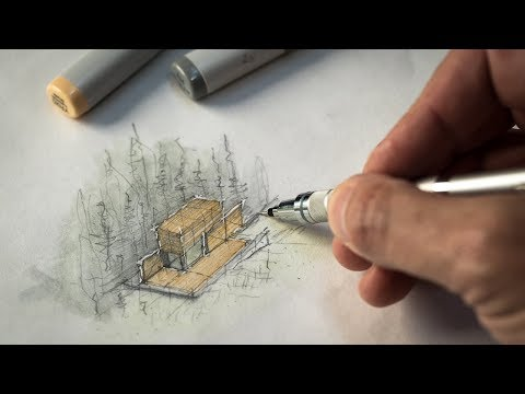 Sketch like an Architect (Techniques + Tips from a Real Project)