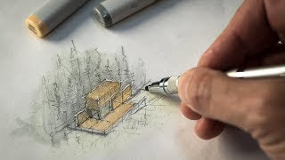Sketch like an Archİtect (Techniques + Tips from a Real Project)