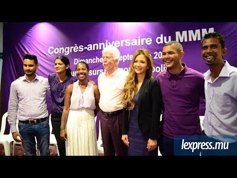 Congrèsanniversaire: le MMM fait de la place aux jeunes