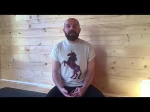 Forrest Yoga training with Jambo