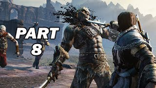 Middle Earth Shadow of Mordor Walkthrough Part 8 (PC 1080p Gameplay)