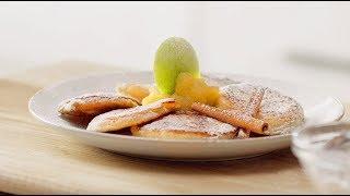 Оладьи рецепт Оладушки | Как приготовить Оладьи с яблоками