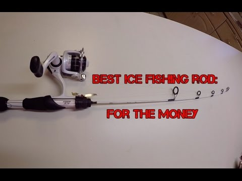 best ice fishing rod for the money youtube