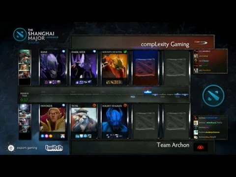 [Insane] Archon vs compLexity - Game 1 - Shanghai Major Qualifiers