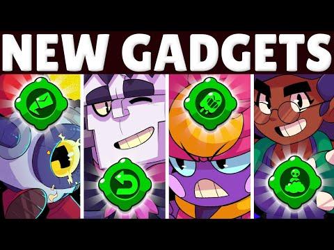 NEW Gadgets + BEST BUILDS For Gene, Frank, Rosa, \u0026 Nani! | BEST Gadgets \u0026 Star Powers!