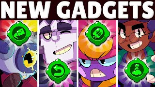 NEW Gadgets + BEST BUILDS for Gene, Frank, Rosa, & Nani! | BEST Gadgets & Star Powers!