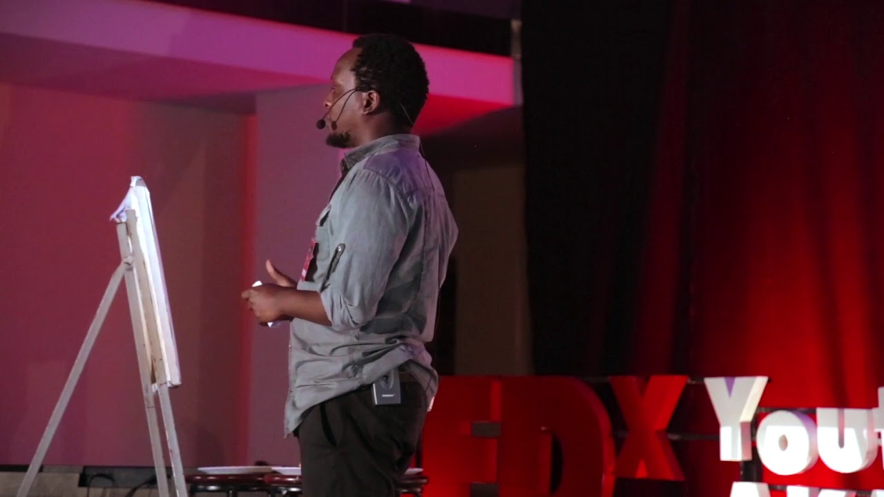 Impacting the Lives of Women through Graffiti | Douglas Kihiko | TEDxYouth@AKAMombasa