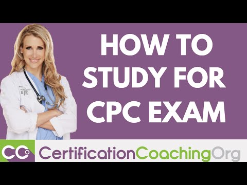 How to Study for the CPC Exam Recommendations - Formula for Success