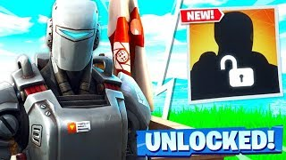SECRET FORTNITE SKIN UNLOCKED! AIM SECRET SKIN GAMEPLAY! Fortnite Skins in Fortnite Battle Royale