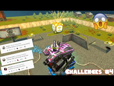Tower Of Mammoths Take Gold?!? - Tanki Online Challenges Video #4