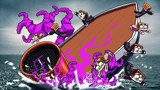 Minecraft | TITANTIC SINKS FROM BACTERIA INFECTION! (Sinking Ship Challenge)