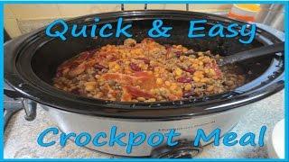 Three Bean Barbecue - Crockpot Recipe!