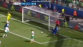 Franciaország 2-1 Írország: Griezmann 1. gól