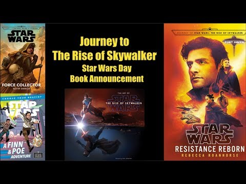 Journey To The Rise Of Skywalker Book Announcement Breakdown Youtube
