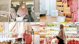 #dailyvlog  Bersih Bersih Kamar Tidur/ Clean With Me/ Ada Yang Baru, 59S Milk Bottle Sterilizing Box