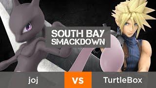 South Bay Smackdown - Winners R1: joj (Mewtwo) vs. TurtleBox (Cloud)