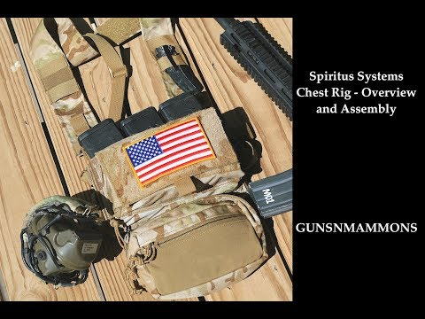 Spiritus Systems Chest Rig - Overview and Assembly