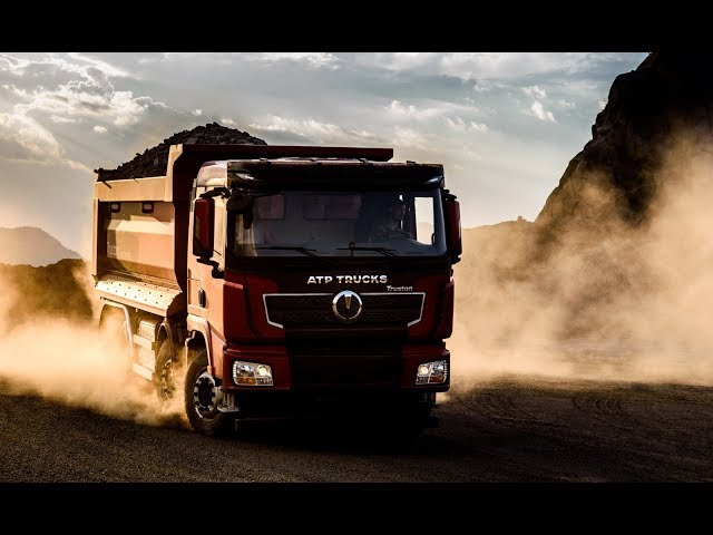 232 # Acesta este TRUSTON, noul camion fabricat in Romania!