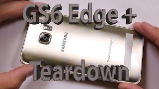 Samsung Galaxy С6 край + плюс демонтаж і ремонт відео