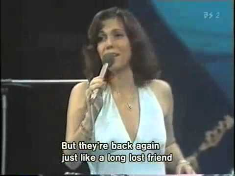 THE CARPENTERS  Yesterday Once More at The Netherlands 1974