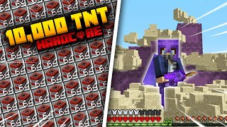 Getting 10,000 TNT in Minecraft Hardcore... (#14)