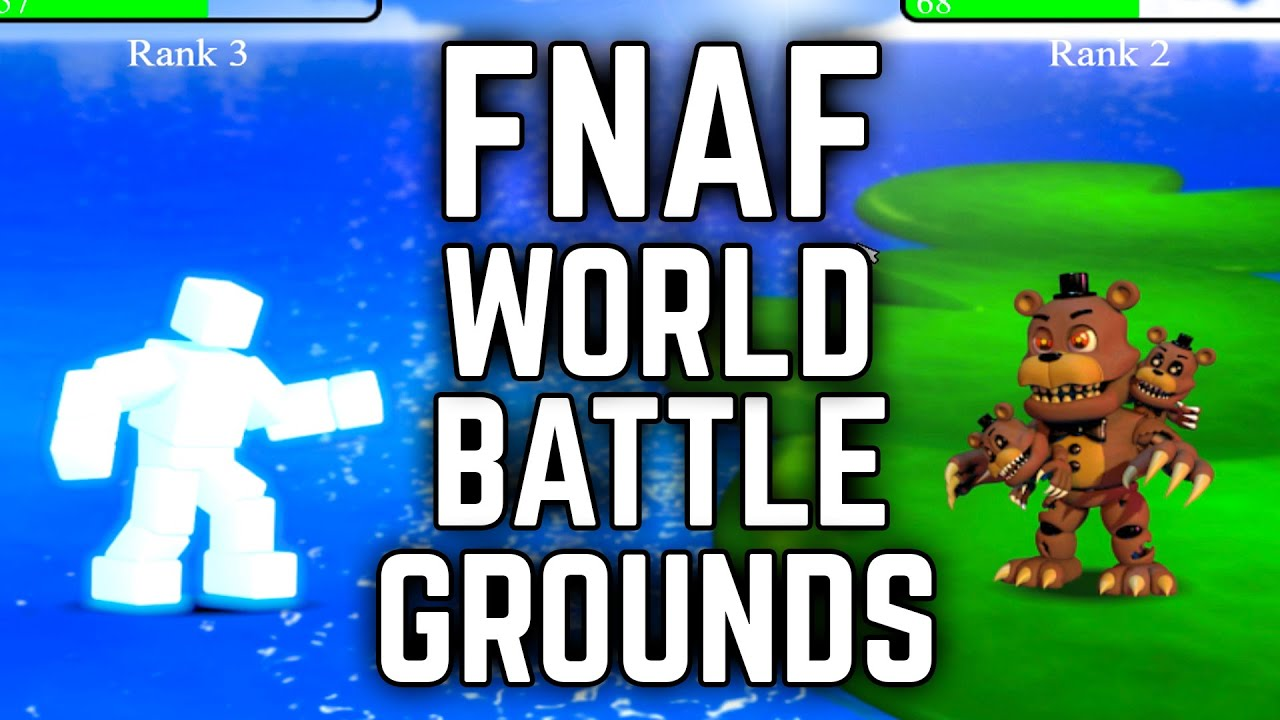 FNAF WORLD ONLINE V2 PRE RELEASE | FNAF World Battlegrounds