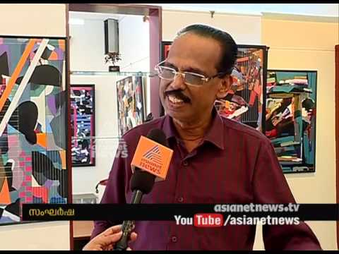 BD Dathan's painting exhibition based on Violence in Society