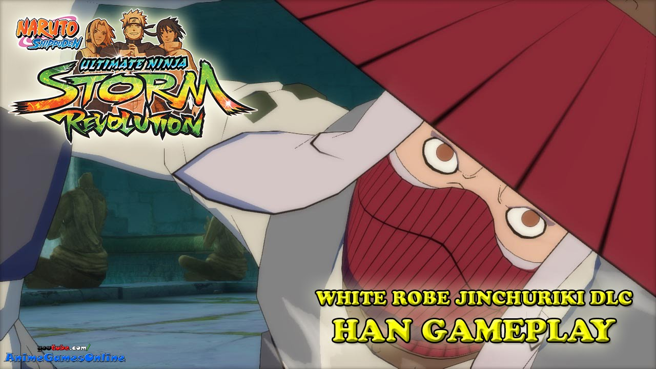 Han White Robe (Jinchuriki DLC) Gameplay - Naruto Shippuden Ultimate Ninja Storm Revolution ...