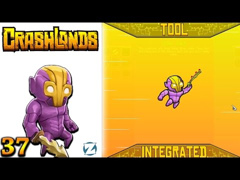 Crashlands Gameplay - Ep 37 - Exopole Acid Fishing (Let's Play)