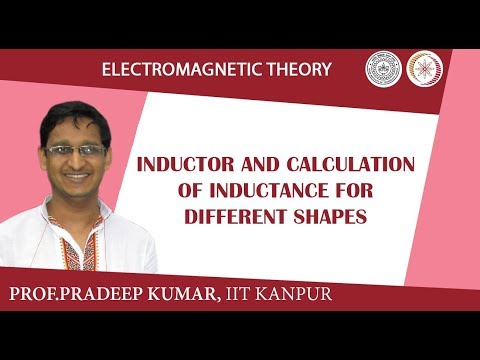 Inductor and calculation of inductance for different shapes