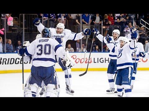 Lightning celebrate after winning Game 7