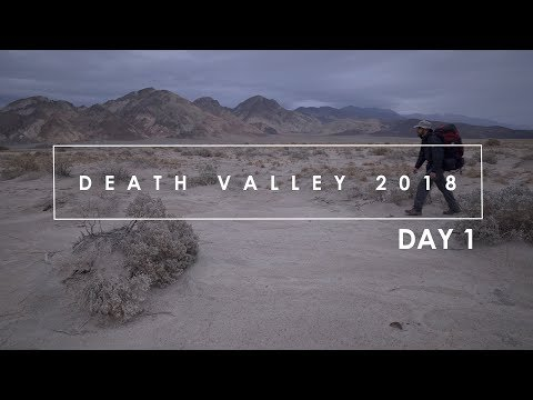 Death Valley 2018: (Day 1) Landscape Photography in Death Valley