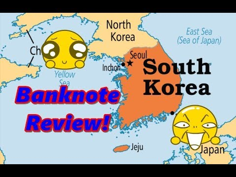 Korea 5000 Won Banknote Review
