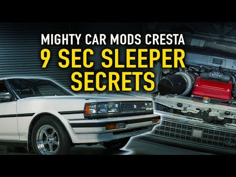 Mighty Car Mods Cresta: Secrets of a 9-sec Sleeper - Technically Speaking