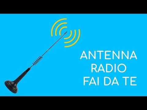 Come fare una antenna radio