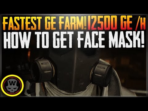 FASTEST&BEST GE FARM! 14000~/h How To Get Face Mask! (The Division 1.7)