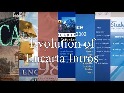 🆞 Evolution Of Encarta Intros And Main Menus