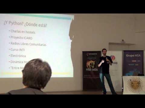 Image from Argentina En Python: Como destruir el sueño de todo programador en 2 minutos