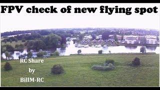 FPV check of new flying spot