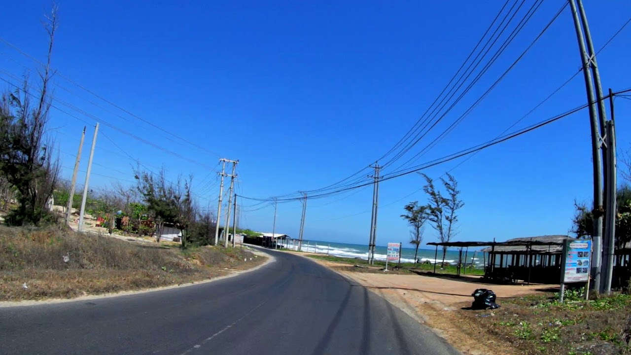 Đường ven biển Lagi Bình Thuận tuyệt đẹp 2020| Du lịch Bình Thuận 2020