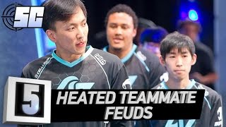 5 Heated Teammate Feuds | LoL eSports