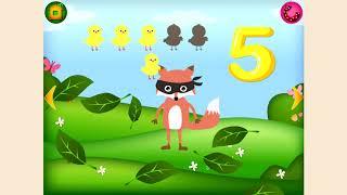 Веселый счет. Учимся считать. Обучающее видео для детей 2-5 лет