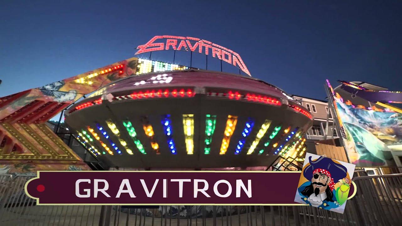 Gravitron Ride Youtube